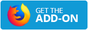 "The Firefox logo followed by the text ""Get the Add-On"""