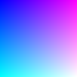 PNG image with a color gradient