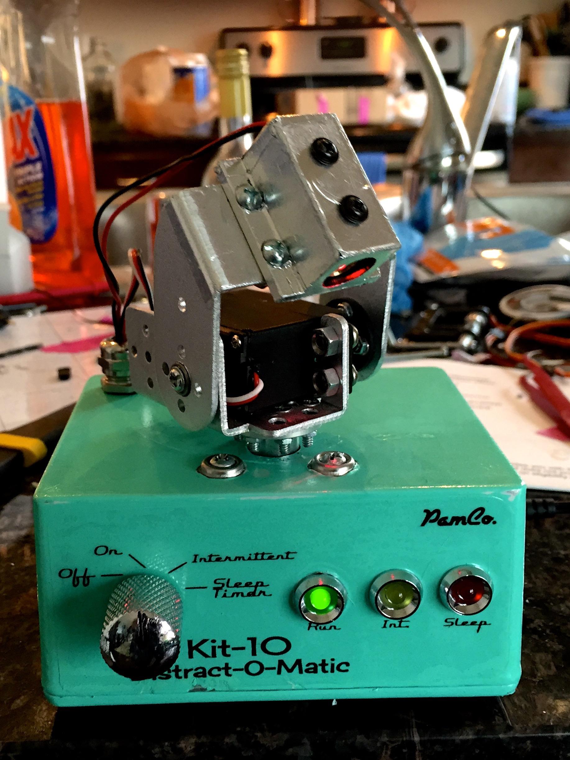 Github stuthedew arduino laser cat turret based
