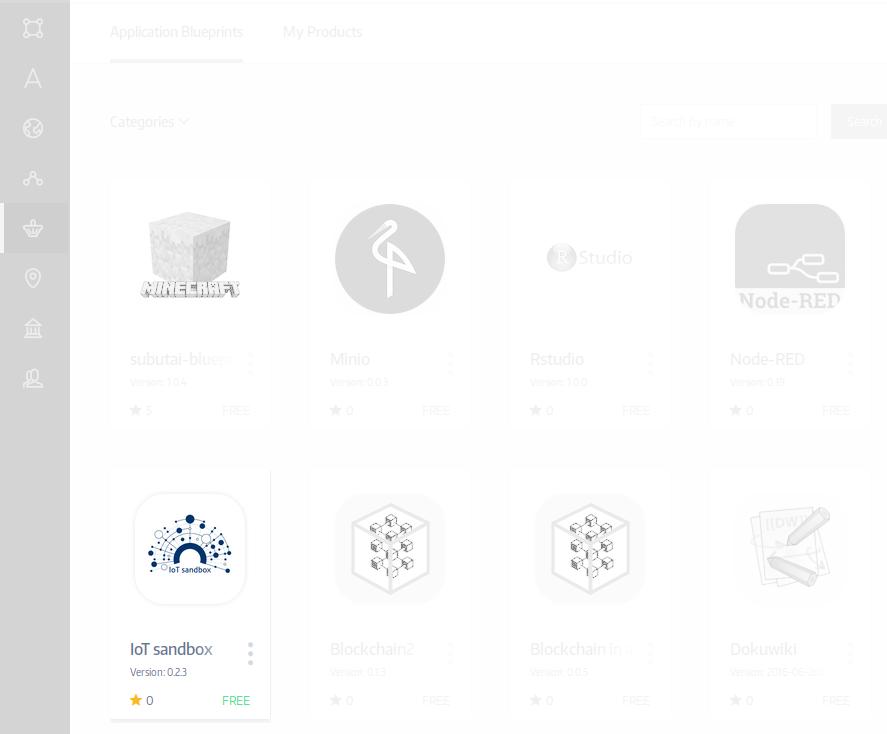 Click IoT sandbox