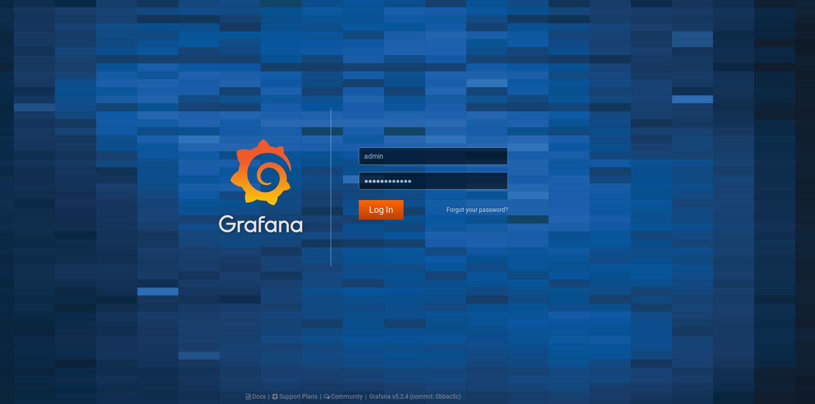 Access Grafana