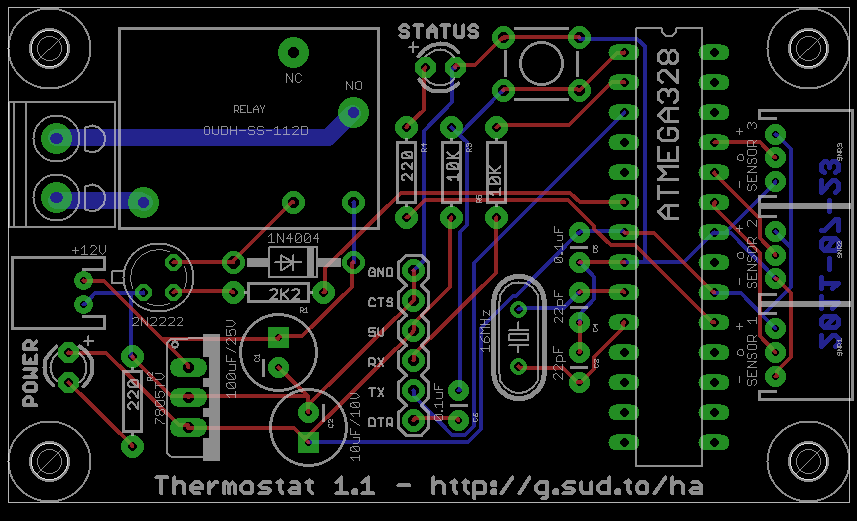 Thermostat PCB