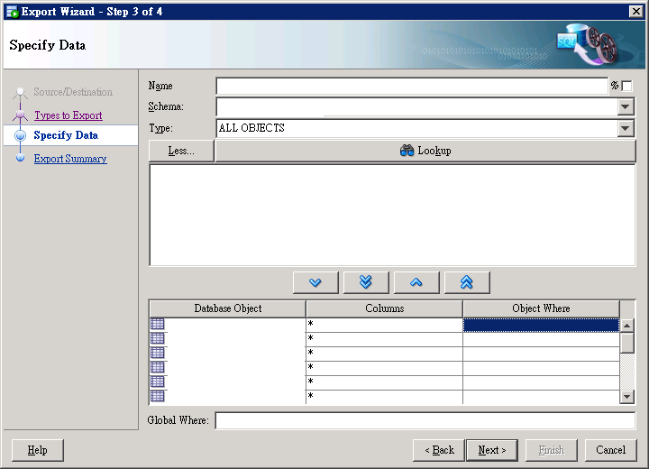 SQL Seveloper Data Export 2