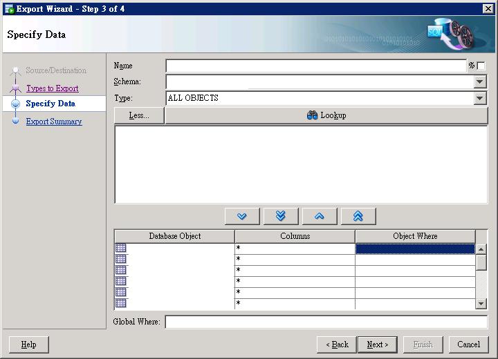 SQL Seveloper Data Export 2