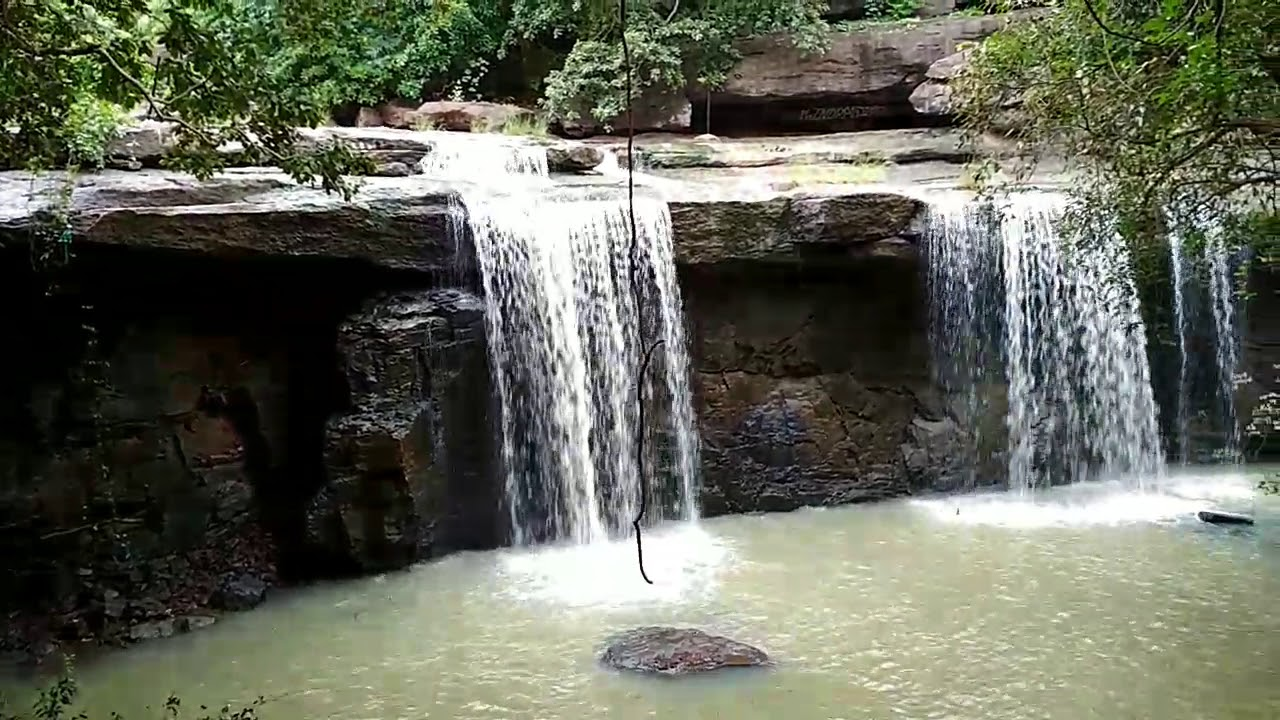 3. Siyadevi Temple and Waterfall