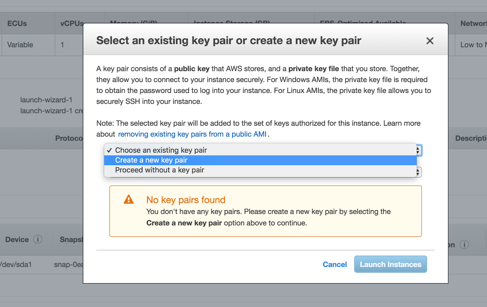 6. Creating Private/Public Key pair for SSH