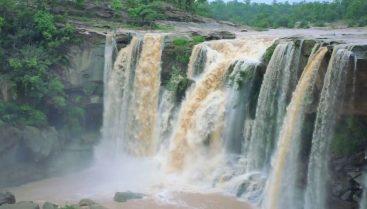 1. Amritdhara Waterfall