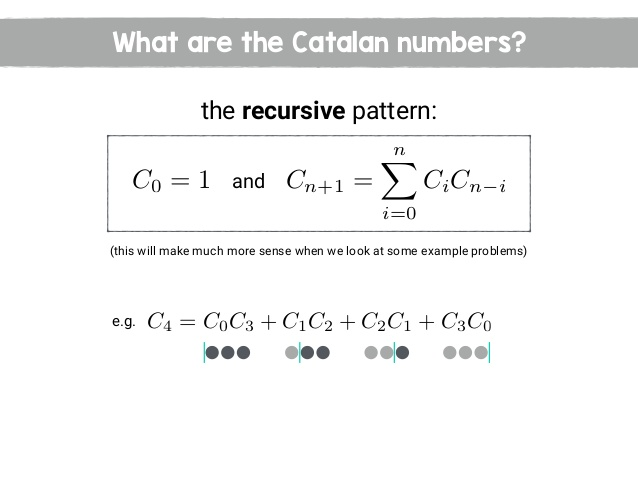 How to find Nth Number in Catalan Numbers?
