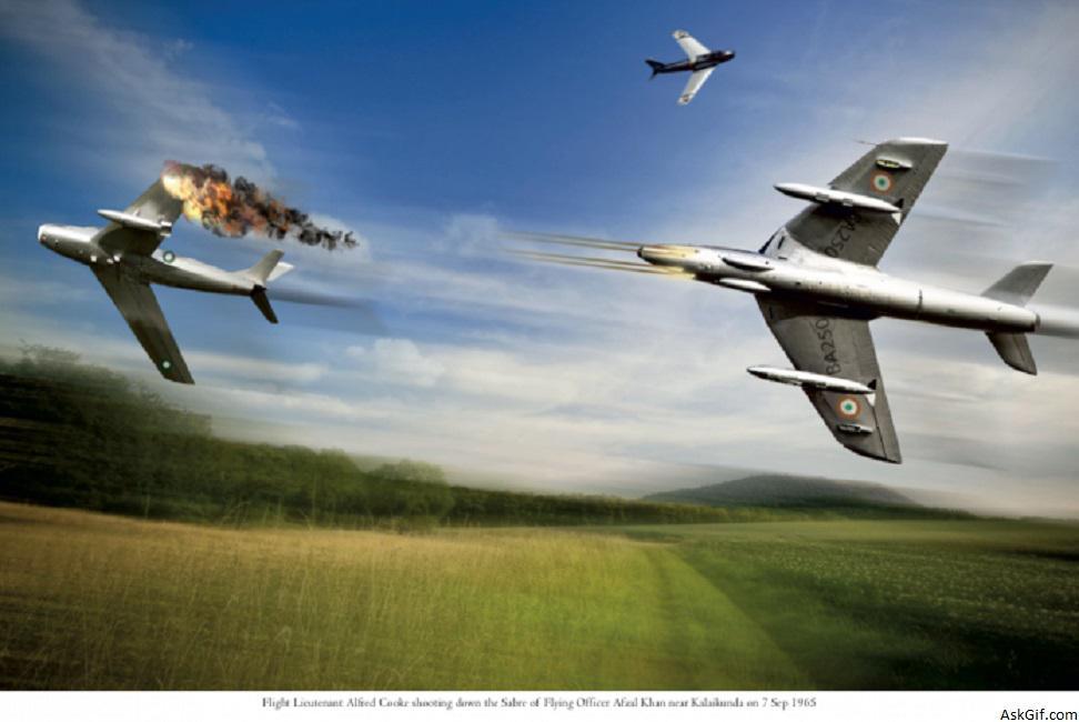 Flt लेफ्टिनेंट अल्फ्रेड टायरोन कुक की कहानी: IAF का अनसंग 1965 हीरो और उसका क्लासिक 1 बनाम 4 एयर मुकाबला