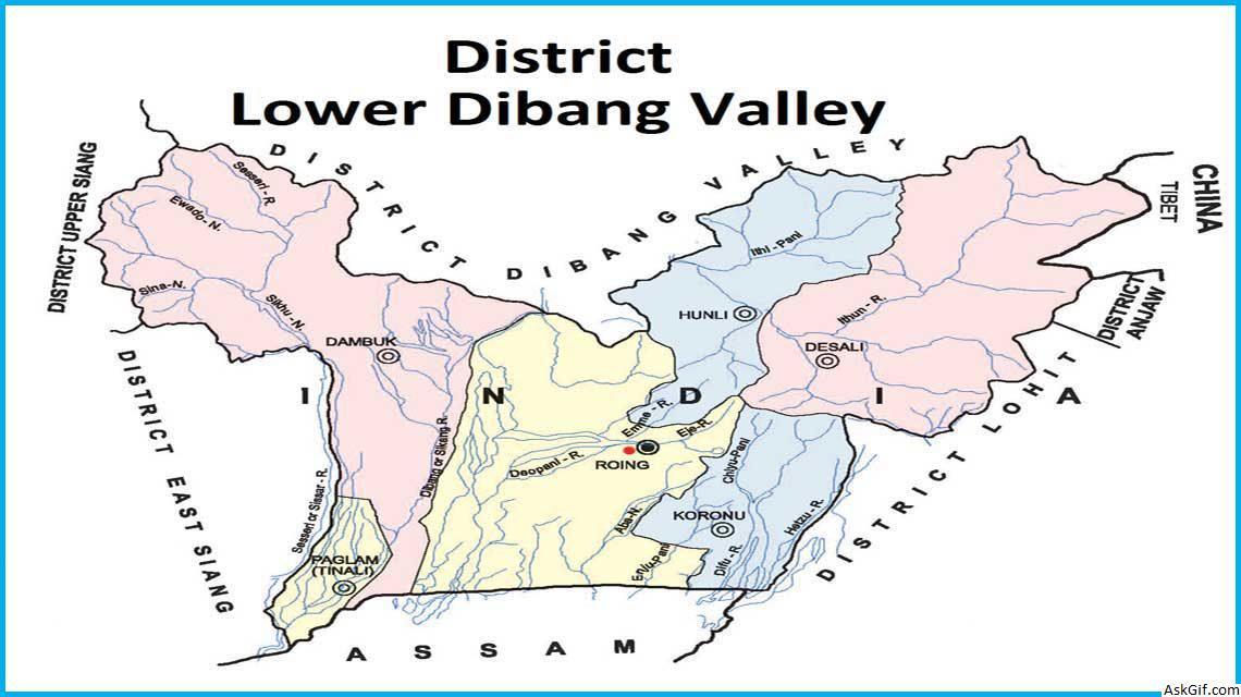 लोअर दिबांग घाटी, रोइंग में घूमने के लिए शीर्ष स्थान, अरुणाचल प्रदेश