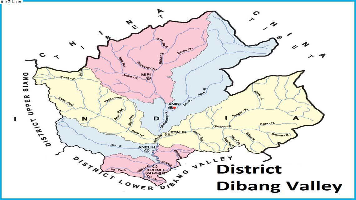 ऊपरी दिबांग घाटी, अनिनी में घूमने के लिए शीर्ष स्थान, अरुणाचल प्रदेश