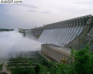 9. Nagarjuna Sagar Dam