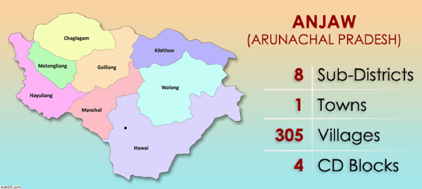 अंजाव, हवाई में घूमने के लिए शीर्ष स्थान, अरुणाचल प्रदेश