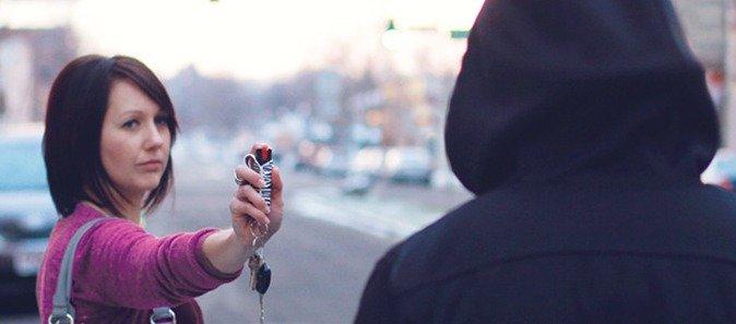 1. Always Carry pepper spray