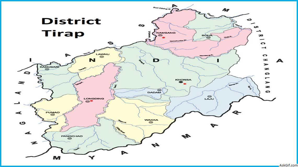 तिरप, खोंसा में घूमने के लिए शीर्ष स्थान, अरुणाचल प्रदेश
