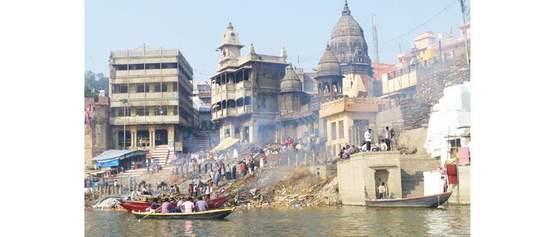 8. Harishchandra Ghat