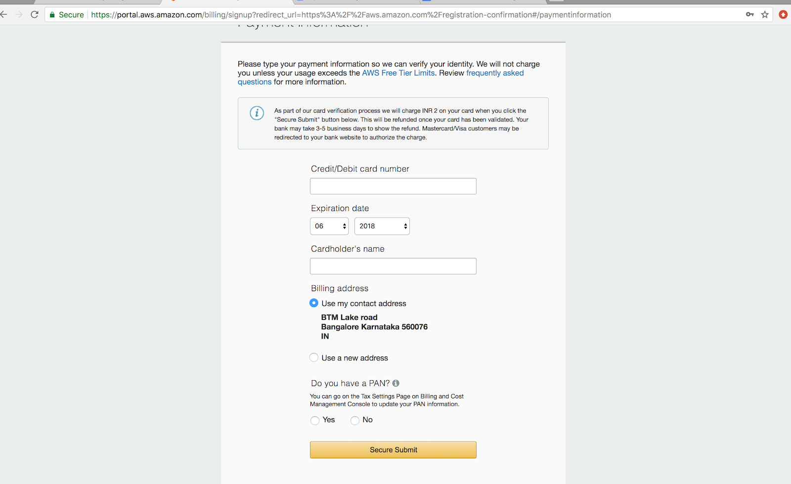 How to create AWS free tier account - Blog - Find Best Reads