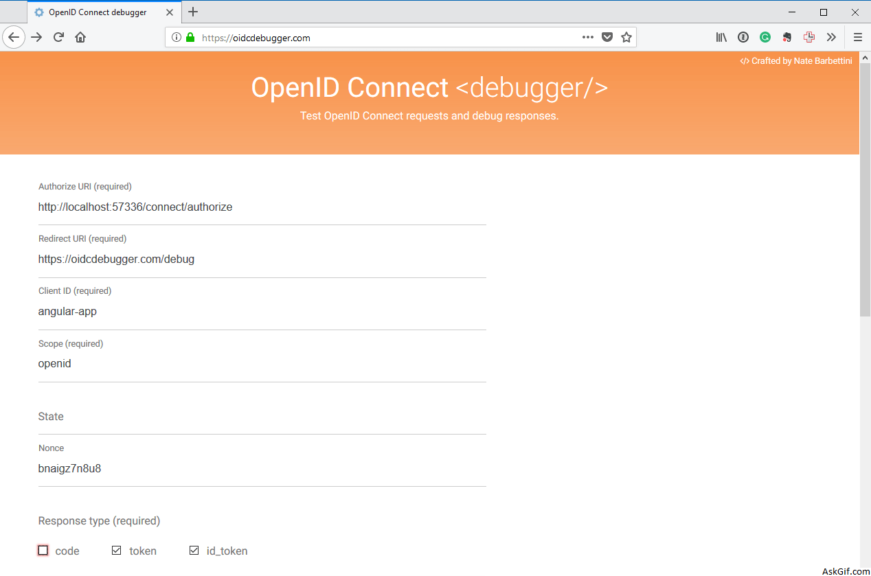 Authorize .NET MVC Core API requests with OpenIddict and Identity