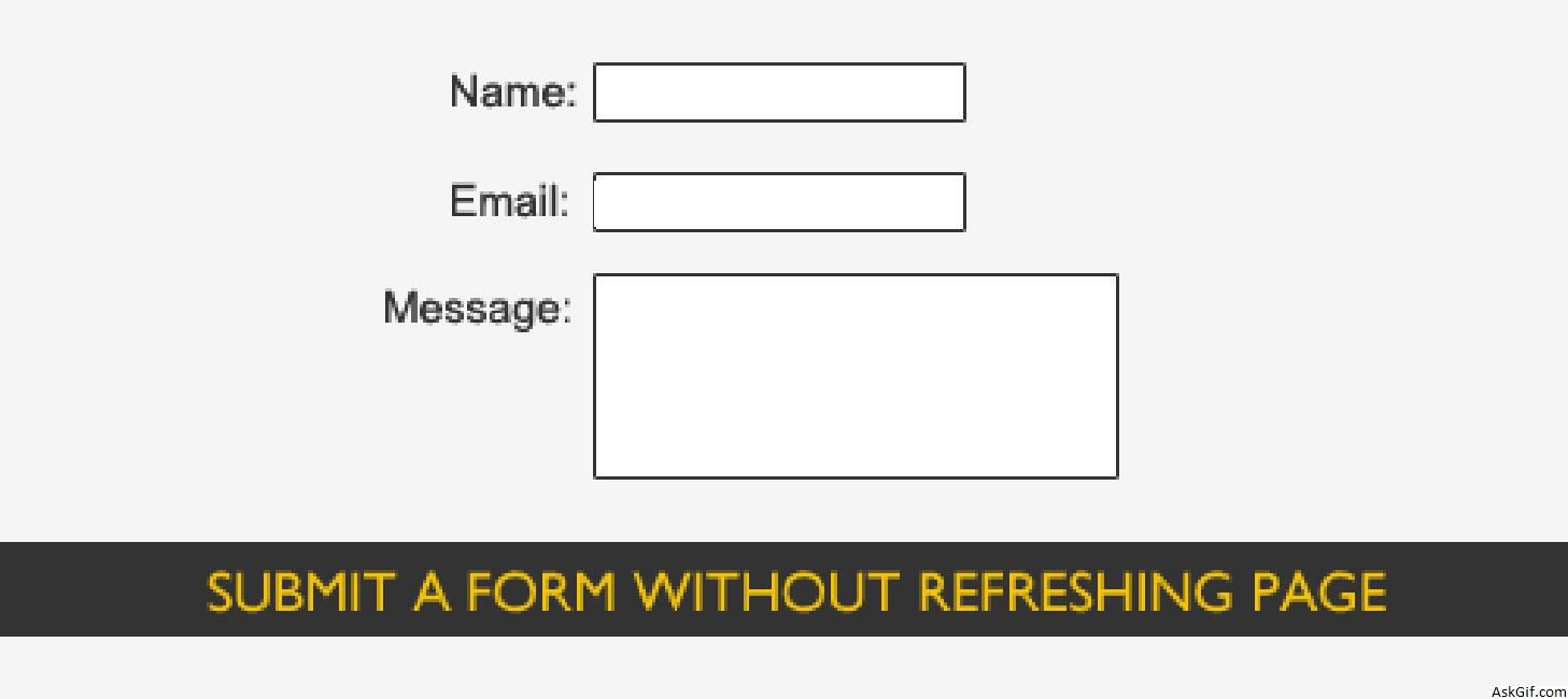 how to submit a form using jquery in php