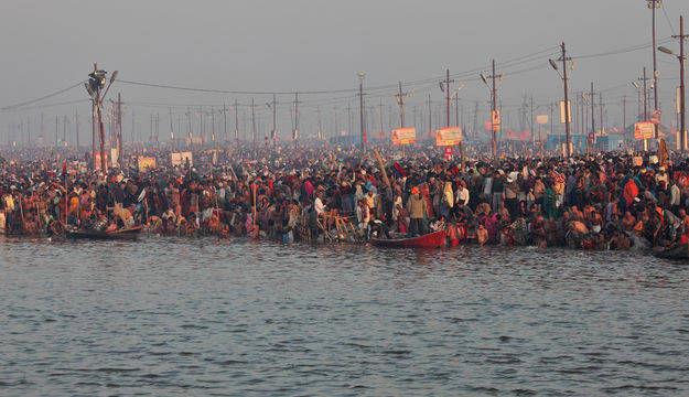 4. Triveni Sangam