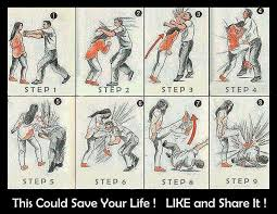 2. Learn some self defense moves
