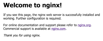 Install Nginx