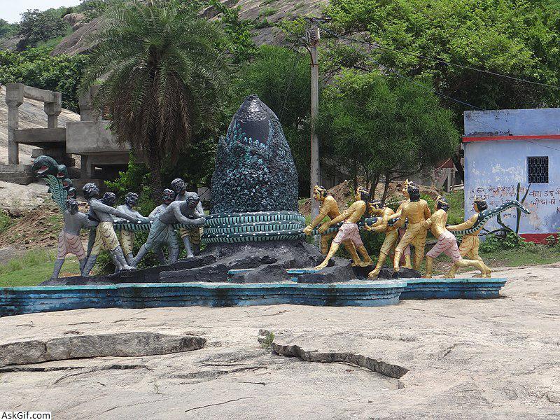 1. Mandar Parvat (Hill)