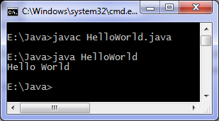Write a Simple Hello World Program in JAVA.