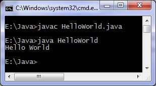 Write a Simple Hello World Program in JAVA.
