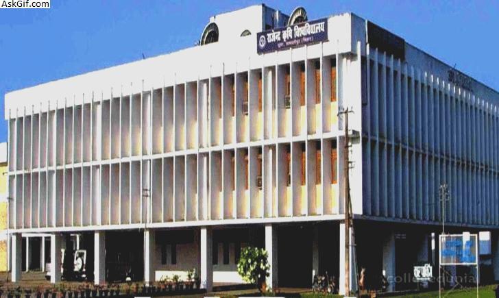 4. Dr. Rajendra Prasad Central Agricultural University,Pusa Samastipur