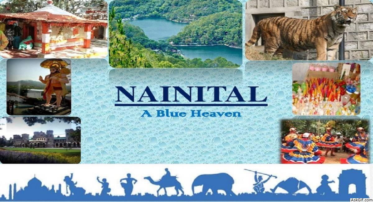 Uttarakhand Tourist Places Collage