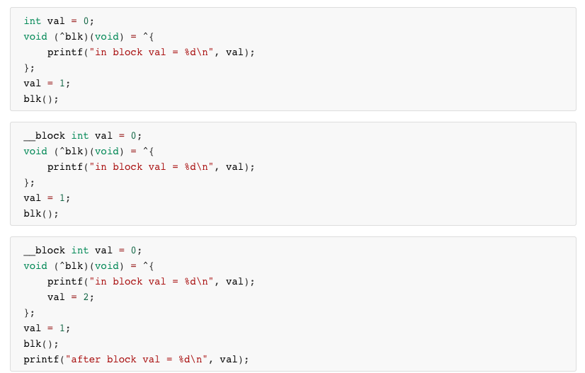 Block 的三道测试题