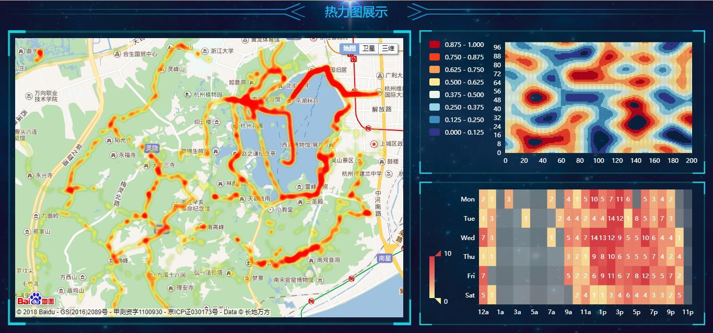 热力图展示 - 基于echarts&百度地图