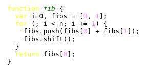 Fibonacci lame html output