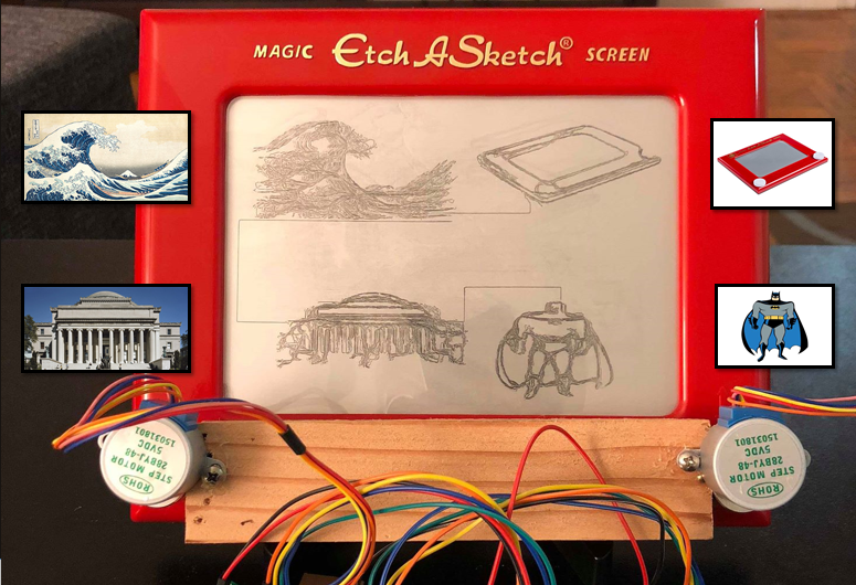 Making Etch-a-Sketch Art With Python