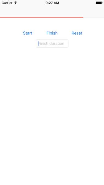 Sample app screenshot