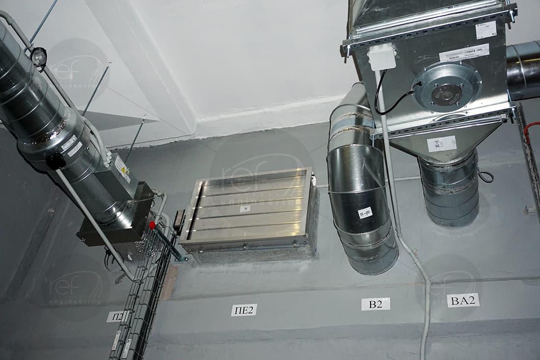 Аммиачная холодильная установка для Черкизово от Рефинжиниринг