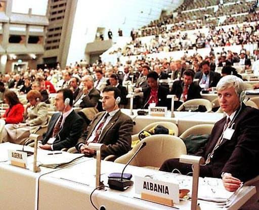 Заседание слушаний по Киотскому протоколу
