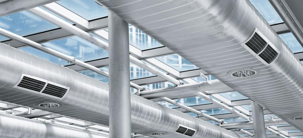 Промышленные системы вентиляции производственных помещений и кондиционирования - HVAC