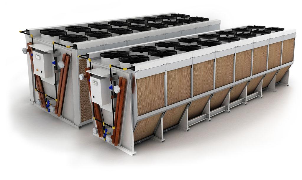 Dry cooler или сухая градирня