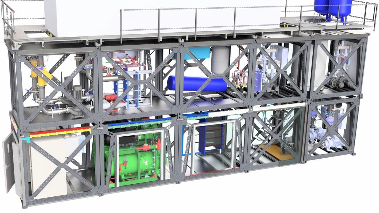 Холодильный агрегат производства Компании Рефинжиниринг