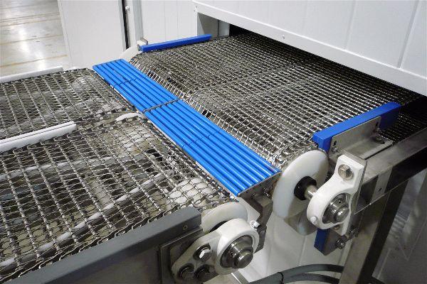 Конвейерная лента для флюидизационной заморозки