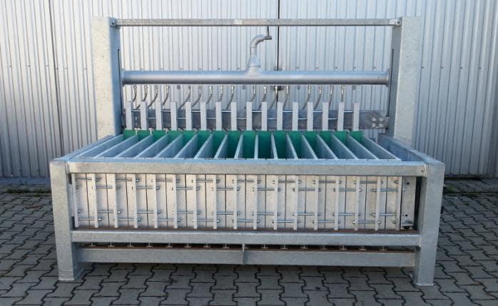 Горизонтальные скороморозильные плиточные аппараты