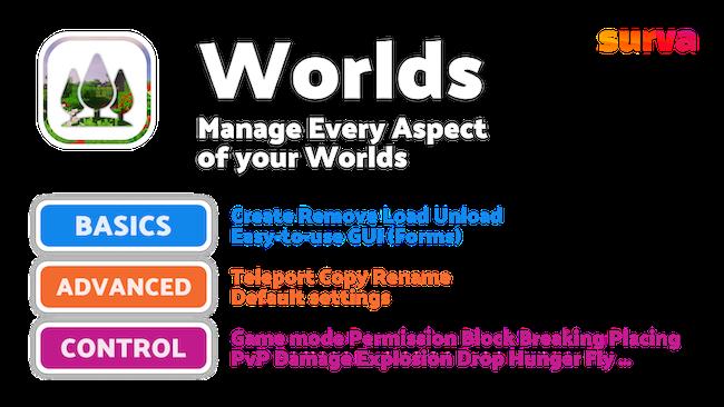 World plugin features