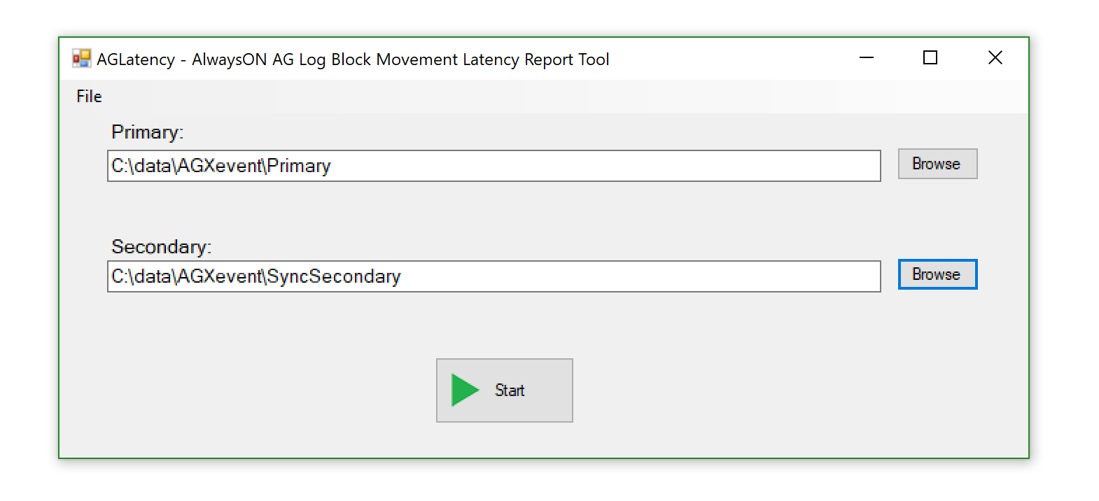 AGLatency AGLatency report tool introduction
