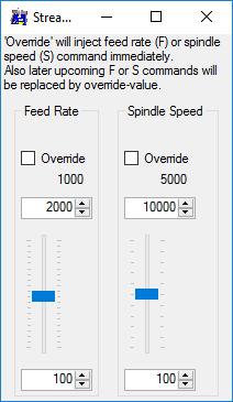 GRBL-Plotter Override