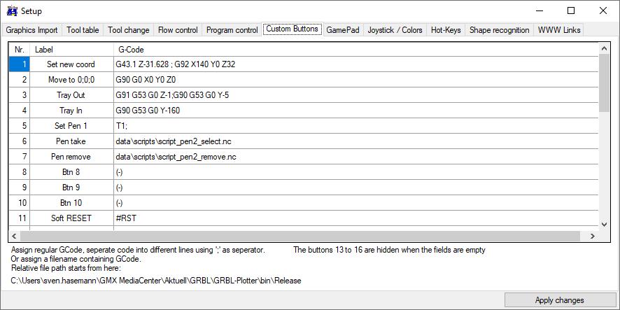 GRBL-Plotter Setup6