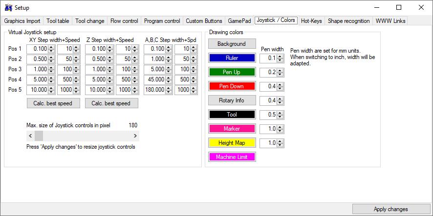 GRBL-Plotter Setup8