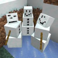 Snow Golem derp faces