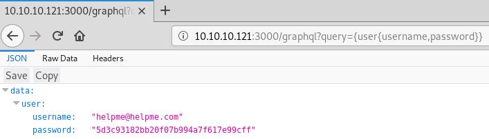 HTB Help - GraphQL injection